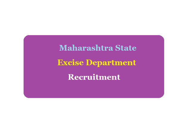 Maharashtra State Excise Recruitment 2020 Notification & MPSC Apply Online Eligibility Exam Date & Syllabus