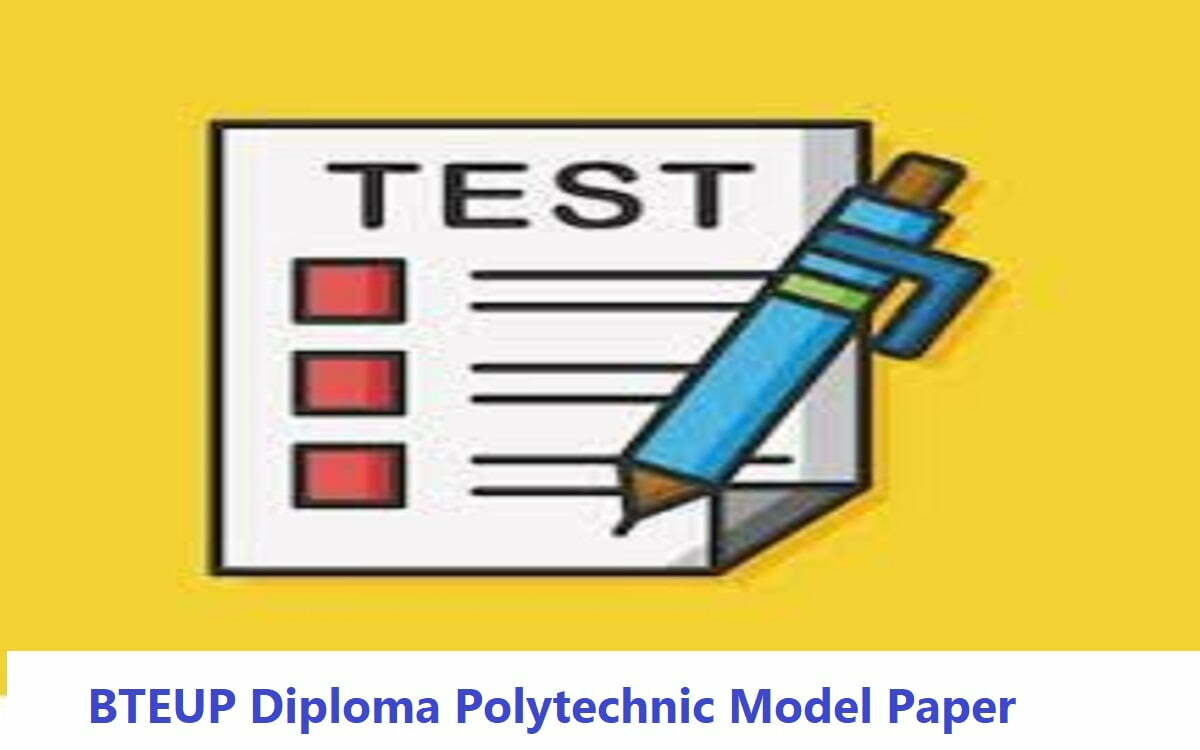 BTEUP Diploma Polytechnic Model Paper 2020