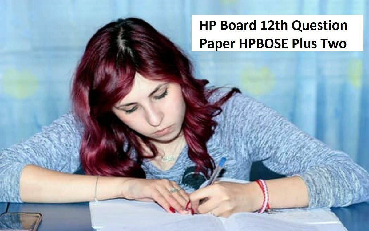 HPBOSE 11th 12th Model Paper 2020 HP (+1 / +2) Blueprint 2020