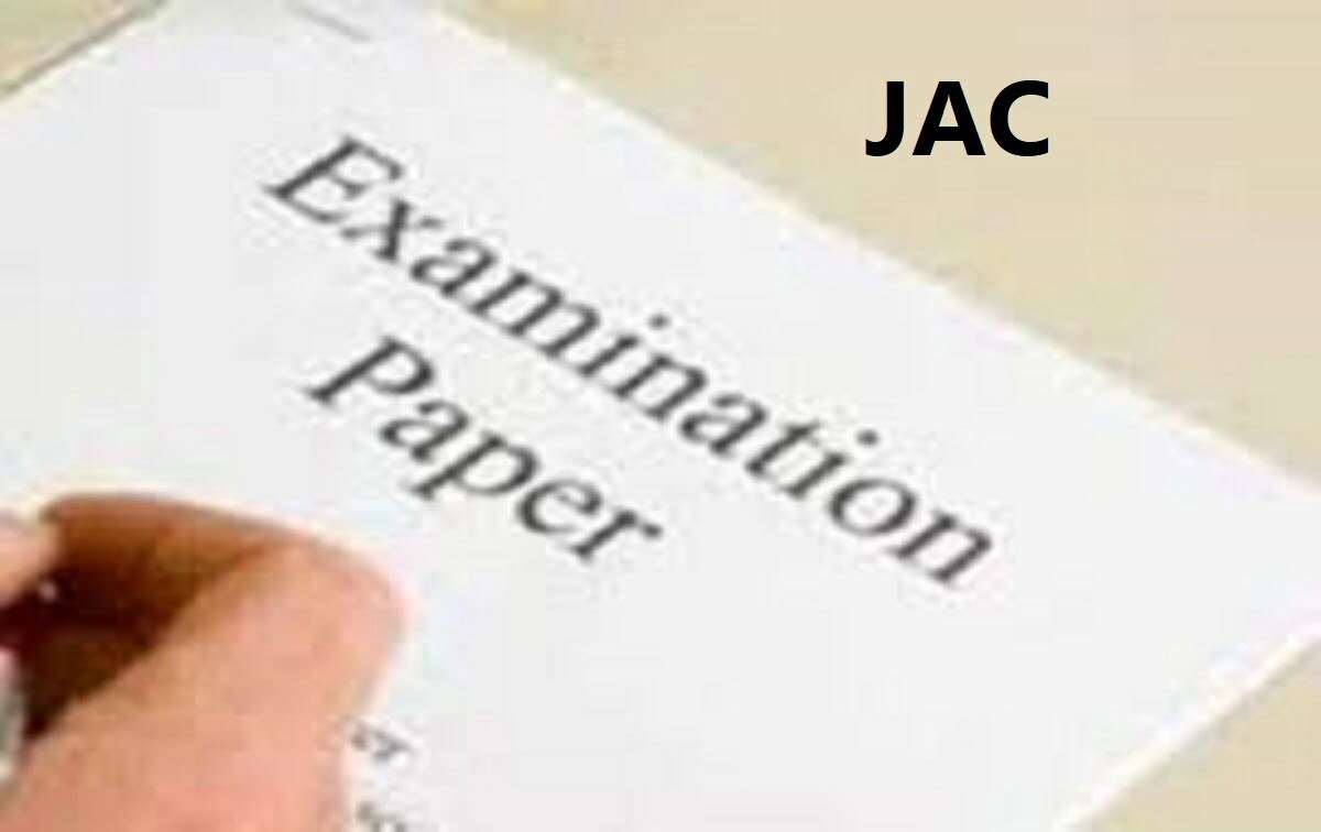 JAC 10th Model Paper 2020 Jharkhand Matric Council 10th Sample Papers