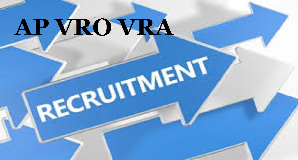 AP VRO VRA Notification 2020 Latest News Apply Online Syllabus Model Paper 2020