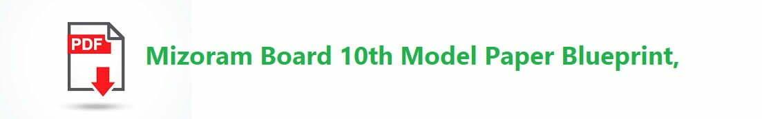 MBSE 10th Model Paper 2020 Blueprint Mizoram Board HSLC Question Paper