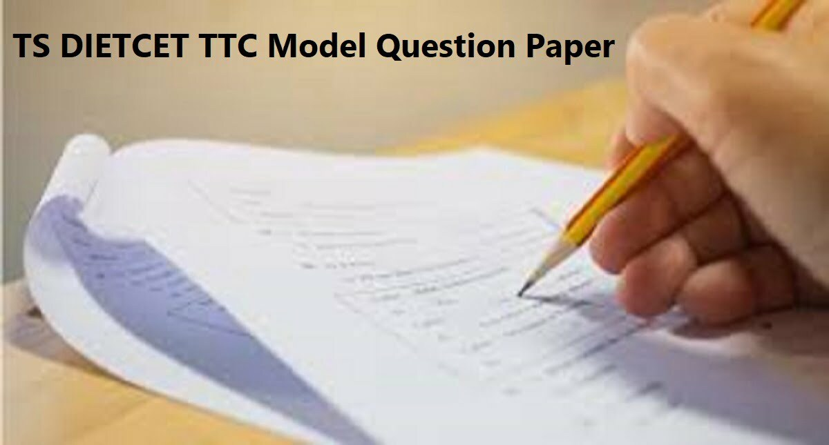 AP TTC Model Question Paper